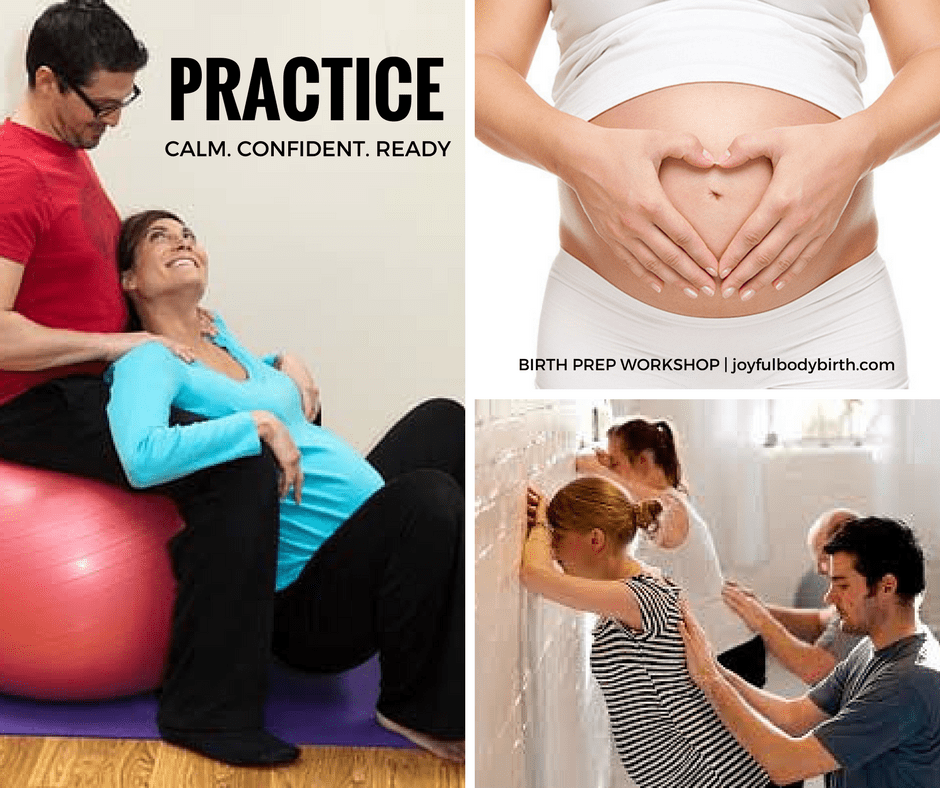 couples preparing for birth