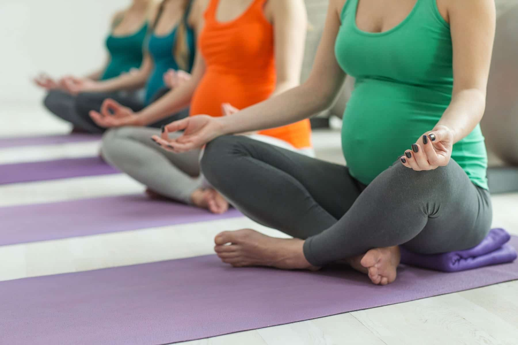 I offer pregnancy yoga with hypnobirthing SOUTH CROYDON