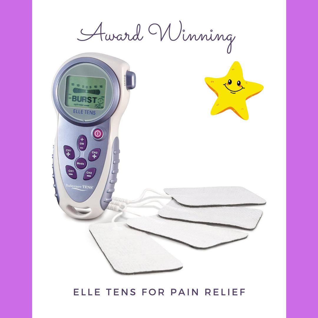 Award winning tens machine for pain relief