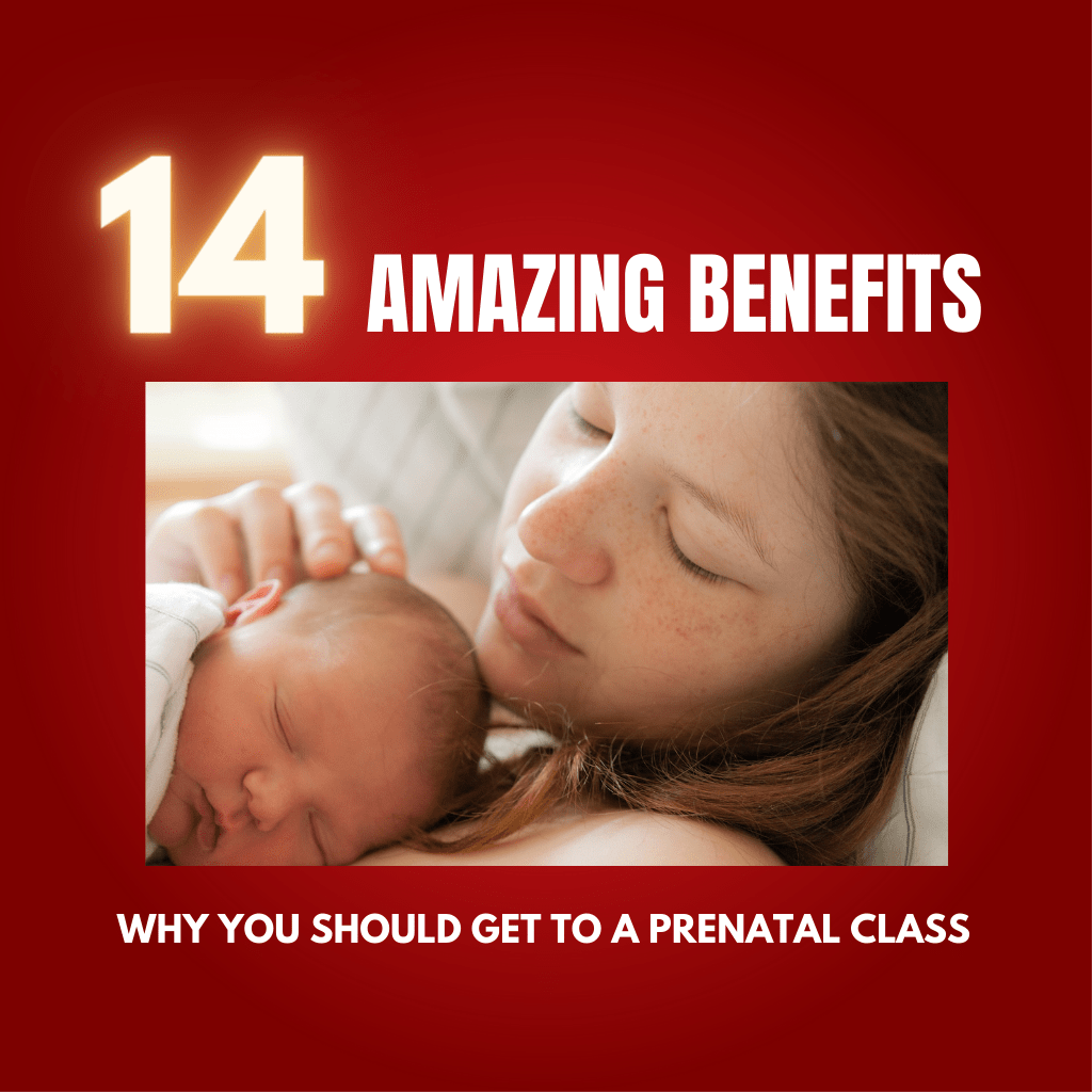 14 Amazing Benefits from a prenatal class